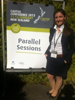 Barbara Neuhofer CAUTHE Conference 2013