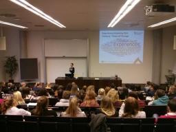 Barbara Neuhofer presents at the 10th Brennpunkt eTourism