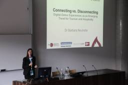 Dr Barbara Neuhofer presents IFITTtalk@Salzburg opening talk
